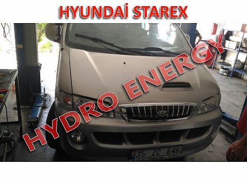 Hyundai Starex / İZMİR  / UCR Hidrojen Yakıt Sistem montajı.