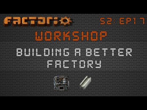 Jim's Rail/Train Based Steel Smelter :: Factorio Workshop Season 2 - Building A Better Factory