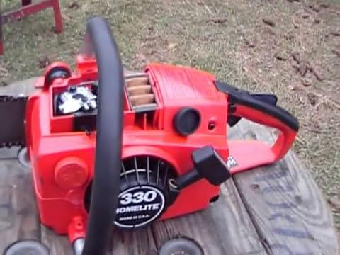 Homelite 330 chainsaw
