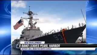 U.S. Navy deploying the HAARP Radar Platform