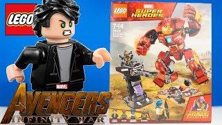 LEGO Marvel Війна Нескінченності 76104 Бій Халкбастера