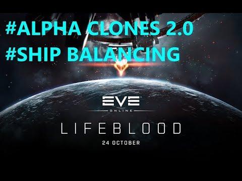 Eve Online  - Alpha Clones 2.0 and Ship Balancing!
