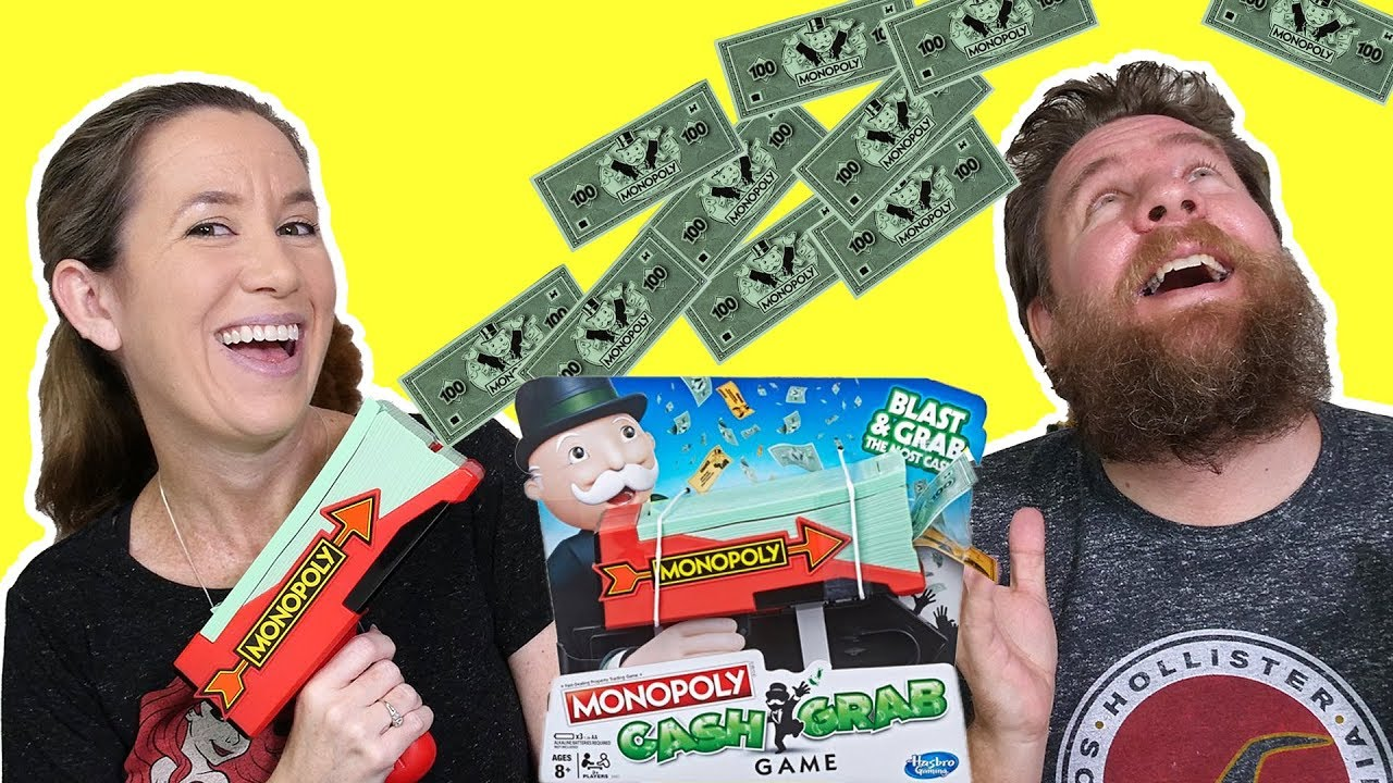 Monopoly Cash Grab Game Review And Play