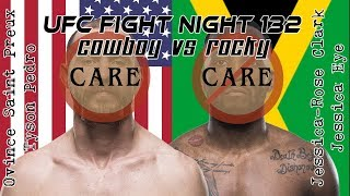 UFC Singapore Care/Don't Care Preview