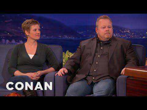 David Drew Howe & Pam Howe Interview Part 2  09/15/15  - CONAN on TBS