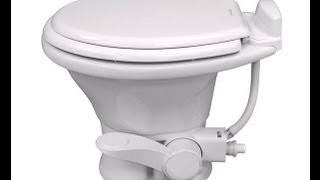 Dometic RV Toilet Installation, RV How To Video