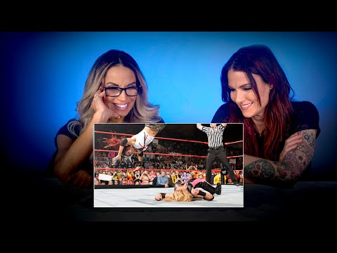 Trish Stratus & Lita rewatch their epic Raw main event: WWE Playback