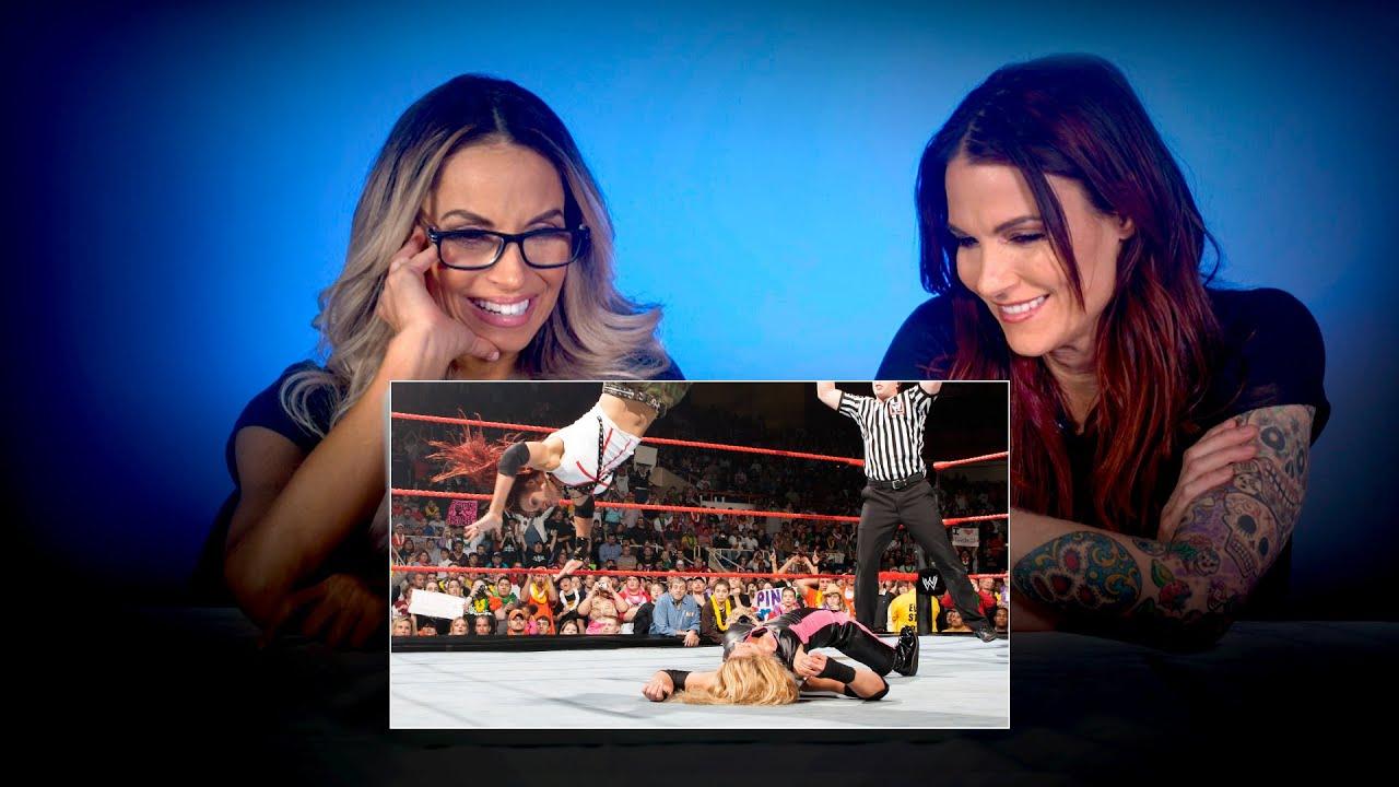 Download Trish Stratus & Lita rewatch their epic Raw main event: WWE Playback