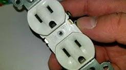No power to light or bedroom plugs - circuit breaker good - how I got it working