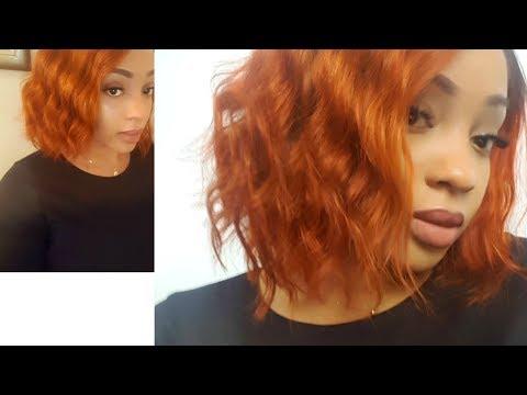 DIY Beautiful Copper/Ginger Hair|Beginners Friendly