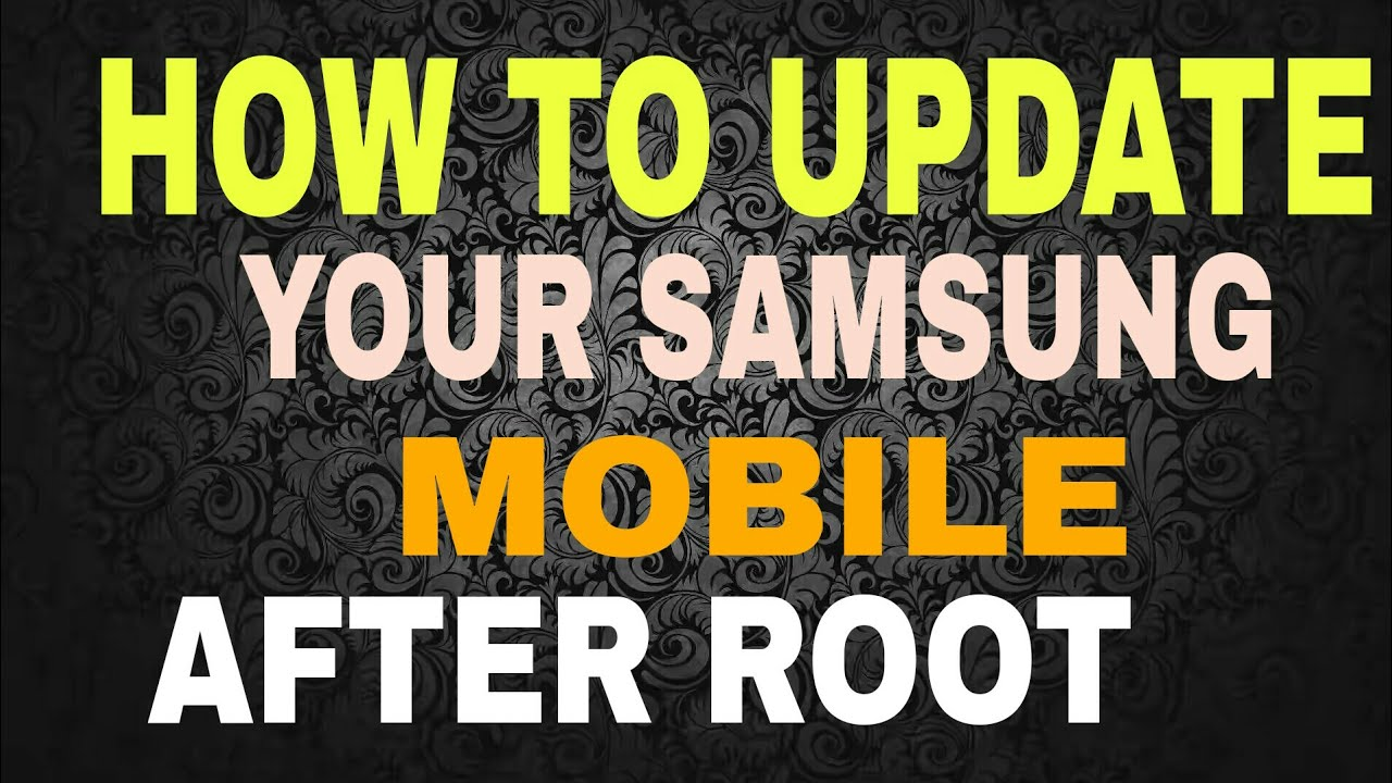 Can't root after latest firmware update :(   Samsung ...