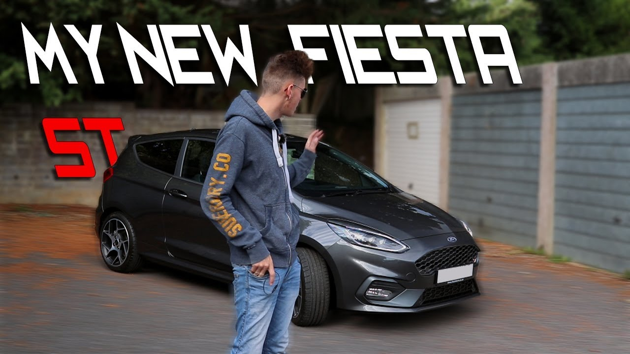 my new ford fiesta st mk8 youtube. Black Bedroom Furniture Sets. Home Design Ideas