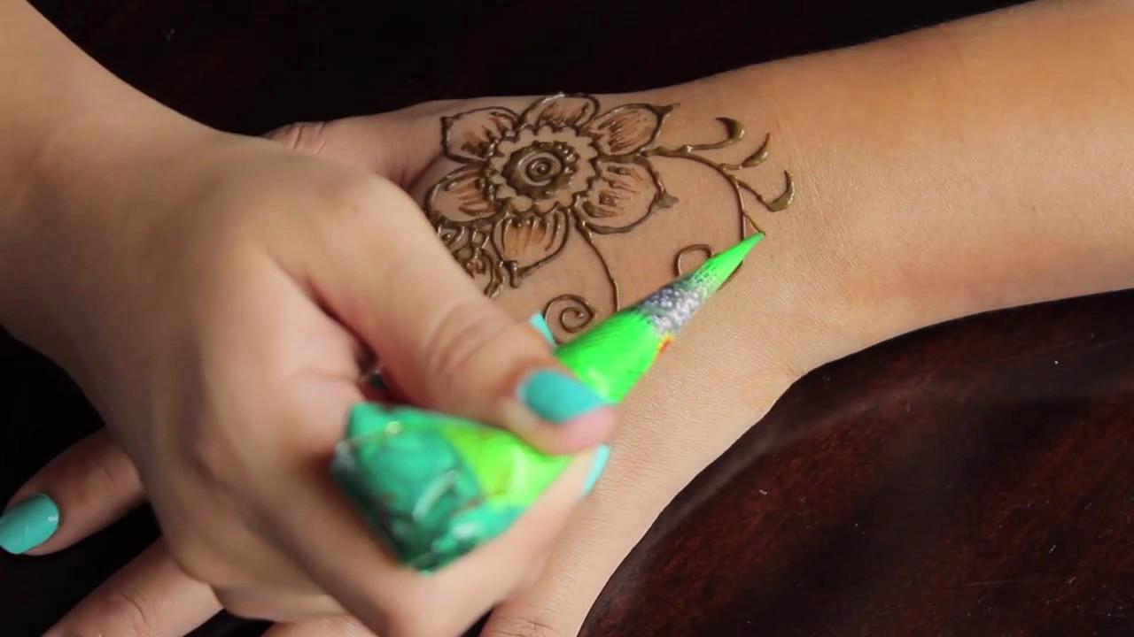 Cara membuat tato hena youtube cara membuat tato hena thecheapjerseys Images