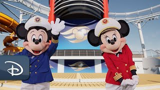 Celebrate The Disney Wish With First-Ever Virtual Deck Party | Disney Cruise Line