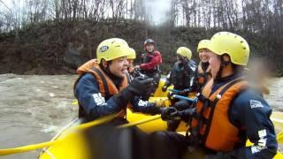 北海道ライオンアドベンチャー 5月2日AM 今季最高水量!