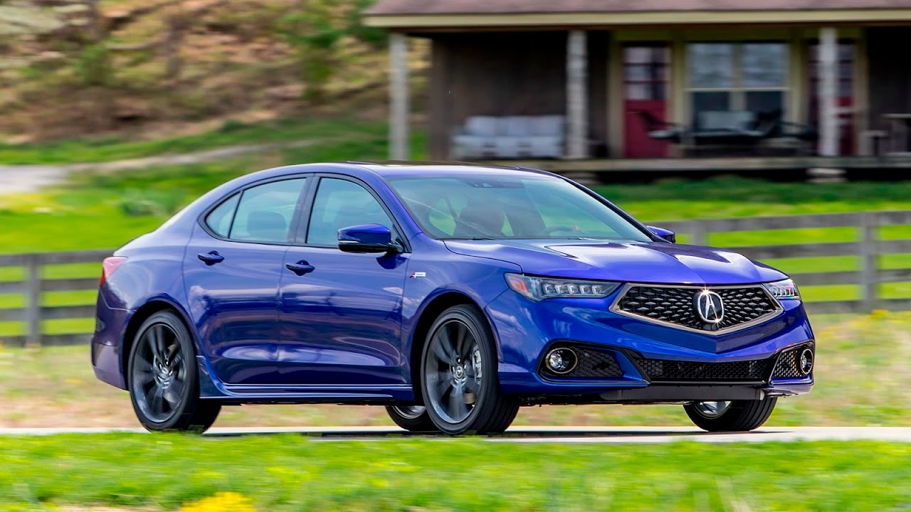 acura tlx a spec first drive 2017 slideshow youtube. Black Bedroom Furniture Sets. Home Design Ideas