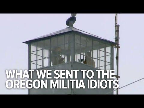 We Sent the Oregon Militia Idiots a Care Package