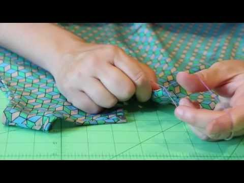How To Sew A Thread Button Loop