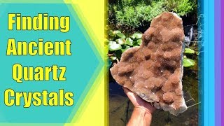 Finding Ancient Quartz Crystals in a Missouri Forest!