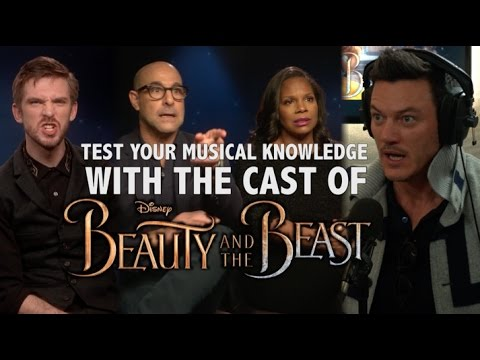 The Ultimate Disney Quiz with the cast of Beauty And The Beast