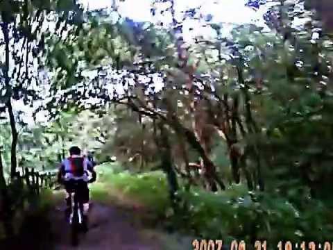 'THE REVERSE CLIFTON' ,  Clifton Park Mountain Biking REC_0023.AVI