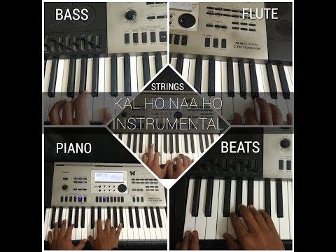 kal-ho-naa-ho-title-track-||-heartbeat-(piano-instrumental-)-cover