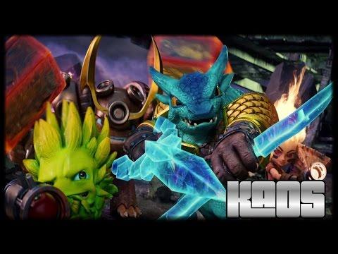 Skylanders Trap Team Kaos Boss Battle Nightmare Mode and ...
