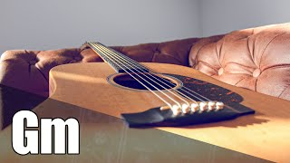 Acoustic Slow Rock Guitar Backing Track In G Minor
