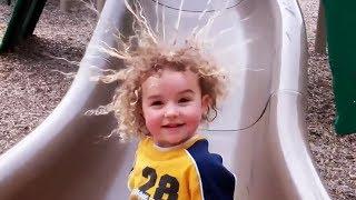 Babies and Kids VS LIFE 5 - Slide Fails
