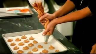 Bonjour + Hola Making Macaron Shells With Francois Payard Part Ii