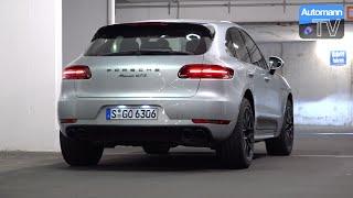2016 Porsche Macan GTS (360hp) - pure SOUND (60FPS)