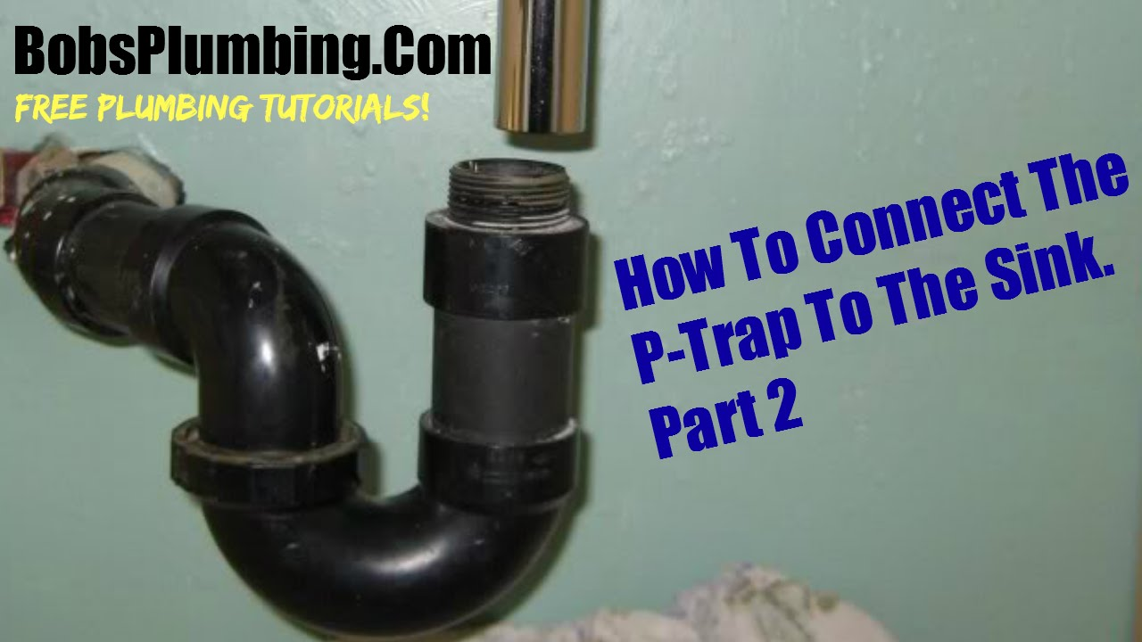 Kitchen Sink Drain Premade Island Assembly Parts Part Two Youtube
