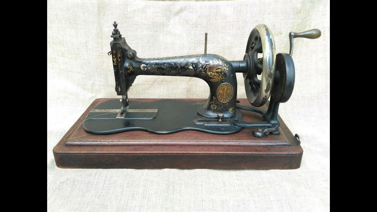 Швейная машинка Подольск. Обзор - YouTube