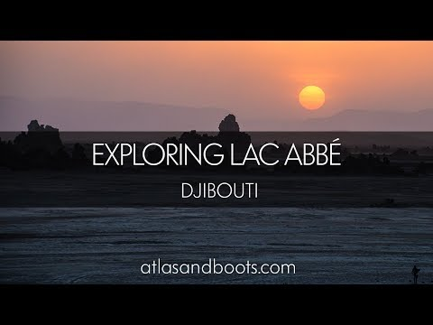 Exploring Lac Abbé in Djibouti