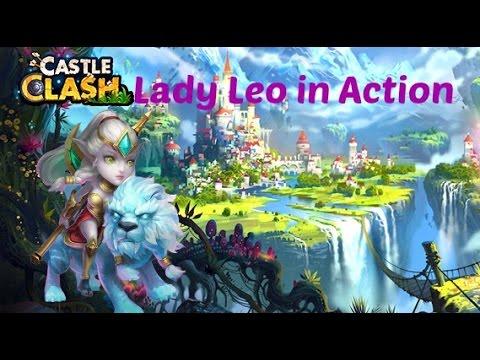Castle Clash:#10 Best Of Lady Leo