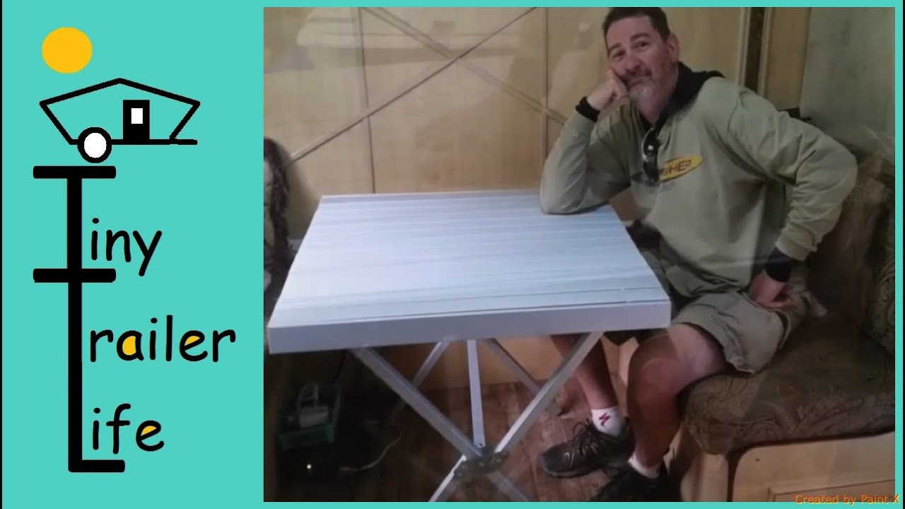 Folding Aluminum Table Alps Mountaineering unboxing YouTube