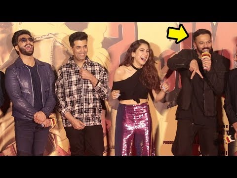 Rohit Shetty Makes FUN of Sara Ali Khan's Acting Debut In Simbaa & Kedarnath In Public Mp3