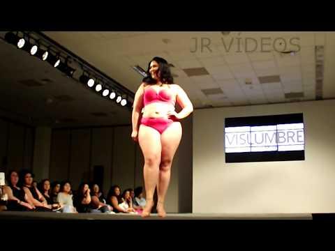 16º Fashion Weekend Plus Size _ Desfile Vislumbre - moda íntima | Parte 1. http://bit.ly/2XkAJCx