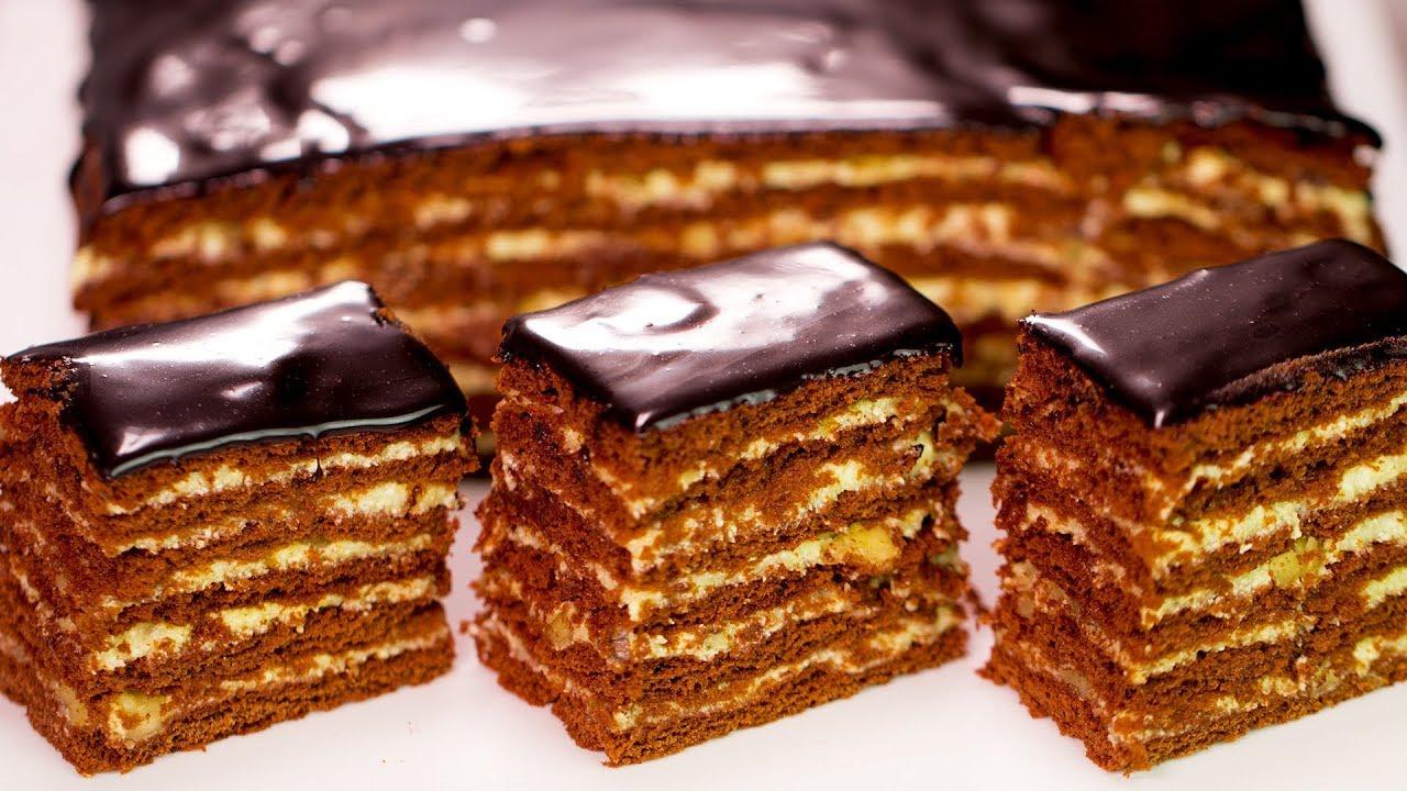 """Ручаемся, не пожалеете! Шоколадно-медовый торт """"Спартак ..."""