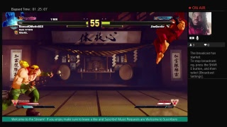 Street Fighter V Ranked and Casual Matches