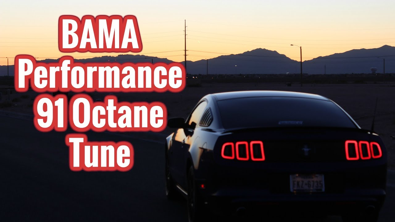 Mustang V6 3 7 Bama Performance Street Tune Review Youtube