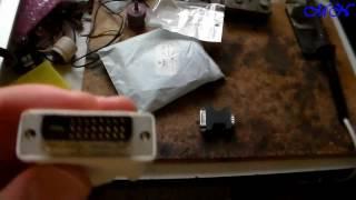 Перехідник з VGA на DVI