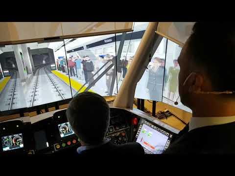Ottawa's light-rail transit simulator unveiled