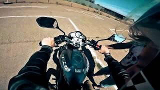 Первый раз на мотоцикле