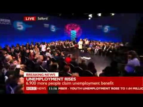 Debate on U.K Unemployment- BBC Radio 5 Live, Feb 2012