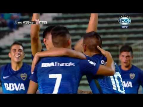 Gol de Bou (2-0) / Boca Juniors 2-0 Estudiantes (LP) - Torneo de Verano 2017