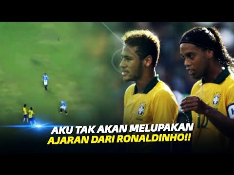 Inilah Hari Dimana Ronaldinho Mengajari Neymar Cara Bermain Bola Yang Sesungguhnya !!