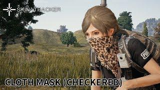 PUBG Cloth Mask Gameplay Skin Tracker com
