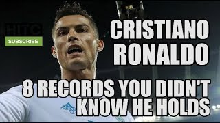 8 Records You Didn't Know Cristiano Ronaldo Holds