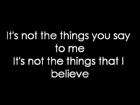 12 Stones - Back Up (lyrics) - YouTube